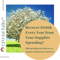 Recover $100K Every Year from Your Supplier Spending