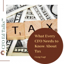 What Every CFO Needs to Know About Tax